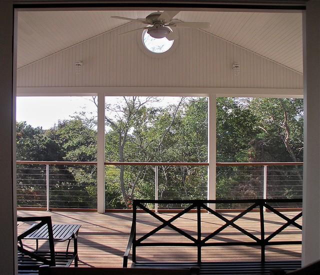 Coast Guard Beach House beach-style-porch