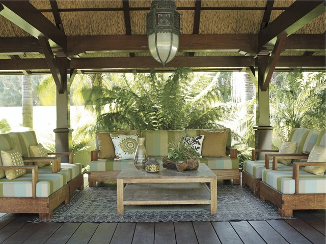 Coastal Modern By Tim Clarke Tropical Porch By