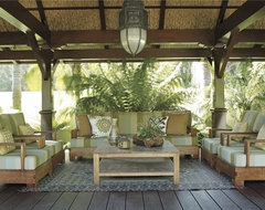 Coastal Modern by Tim Clarke tropical-porch