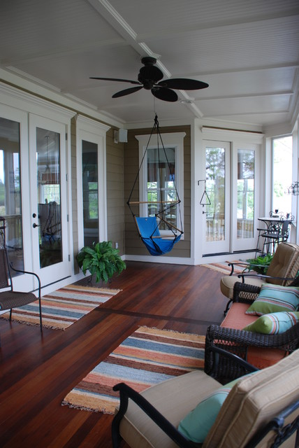 Comfortable Outdoor Living traditional-porch