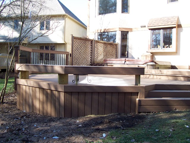 Composite Decks traditional-porch