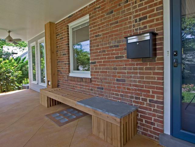 Contemporary Front Porch Bethesda MD