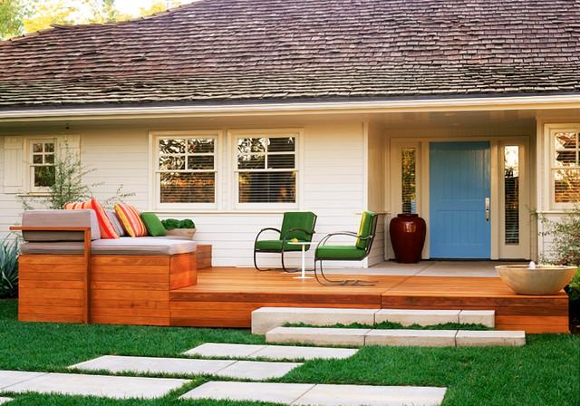 Contemporary Front Porch Contemporary Porch Los