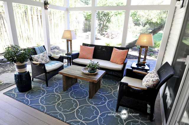 Screened Porch Furniture Arrangements My Web Value