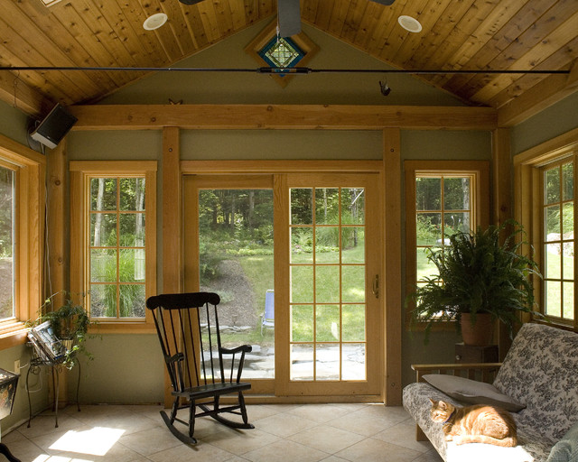 Cottage In The Woods Traditional Porch Boston By
