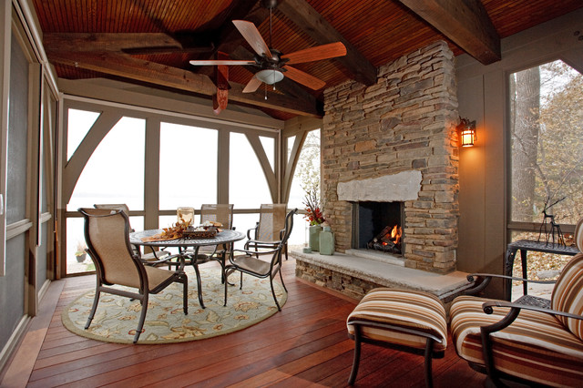 Cottage on the Hill - Traditional - Sunroom - minneapolis ...