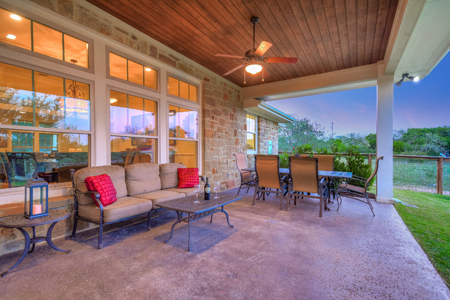 Classic porch idea in Austin