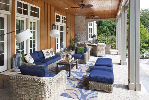 Country Home relaxing patio