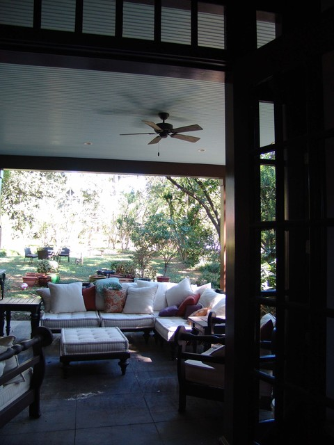 Covered Porch traditional-porch