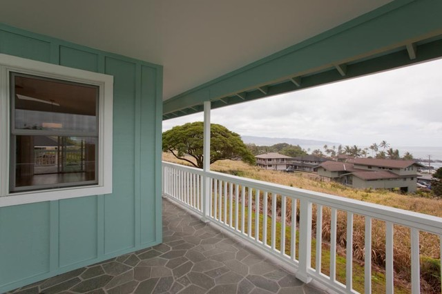 Cozy Waimea Custom Home traditional-porch