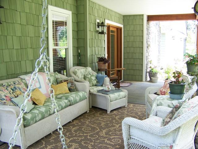Craftsman Cottage Front Porch craftsman-porch