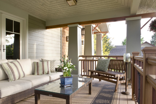 Craftsman front porch craftsman porch denver by lawrence and gomez architects