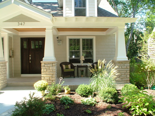 Craftsman Remodel traditional-porch