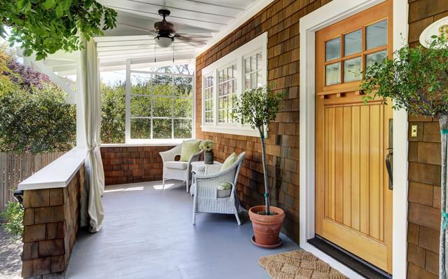 Craftsman Revival craftsman-porch