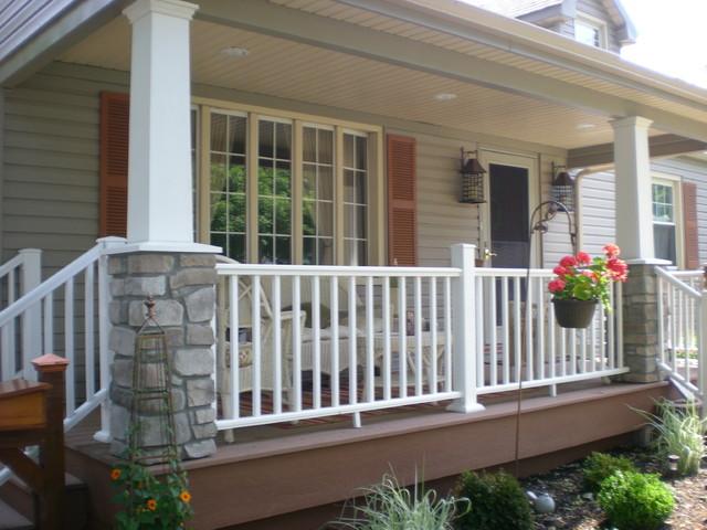 Craftsman Style Cape Cod - Craftsman - Porch - new york ...