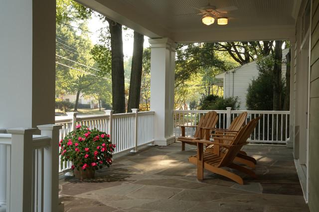 Craftsman Style Home craftsman-porch