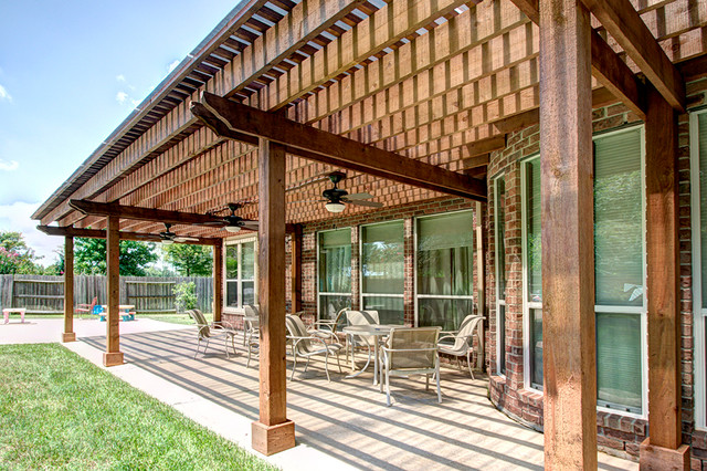 Created by Brickhouse Construction, LLC traditional-porch