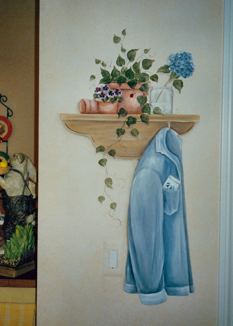 Creative artwork traditional-porch