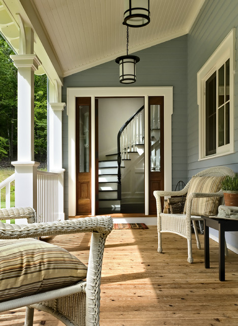 Crisp Architects traditional-porch