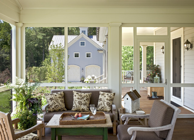 Crisp Architects farmhouse-porch