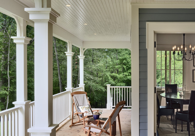 Crisp Architects traditional porch