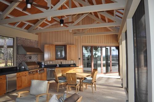Crosby Residence contemporary porch
