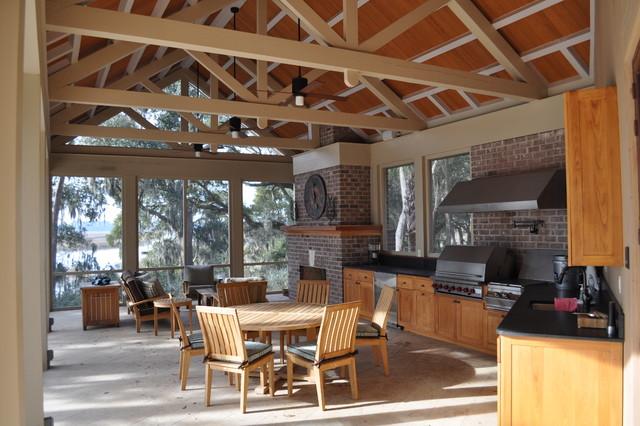 Crosby Residence contemporary-porch