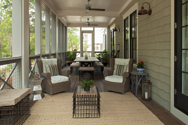 Crouch Residence traditional-porch