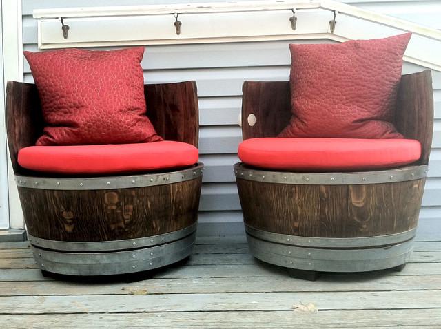 Custom Barrel Seat Cushions