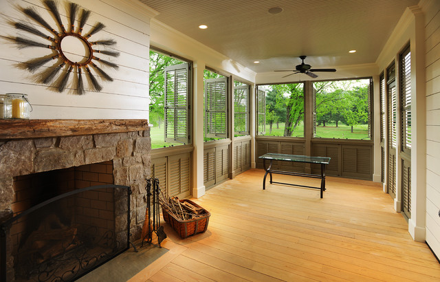 Custom Belle Park Home traditional-porch