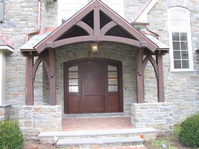 Custom Home 7 traditional-porch