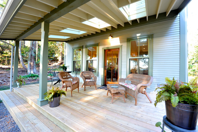 Custom Home Built By SFH traditional-porch