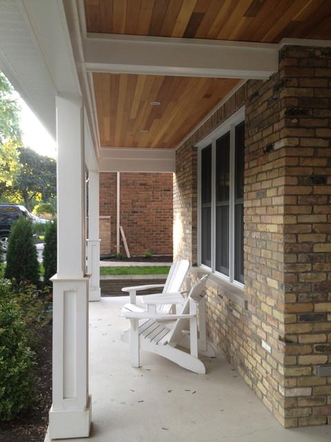 custom home designs traditional-porch