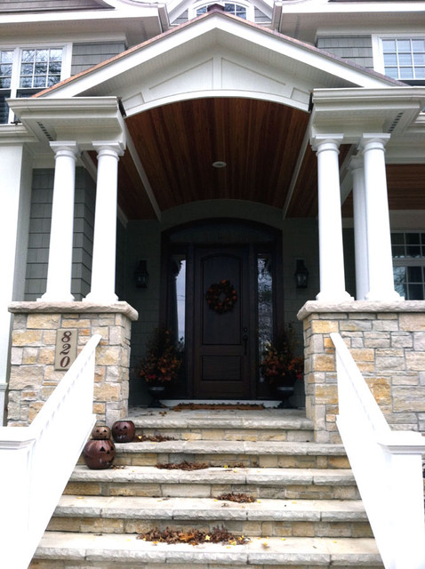 Custom Offsite Homes by Airhart Construction traditional-porch