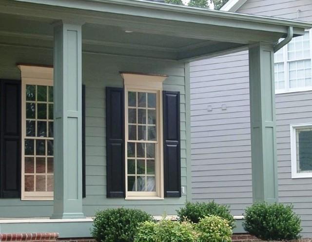 Custom porch columns traditional porch miami by for Decorative exterior columns
