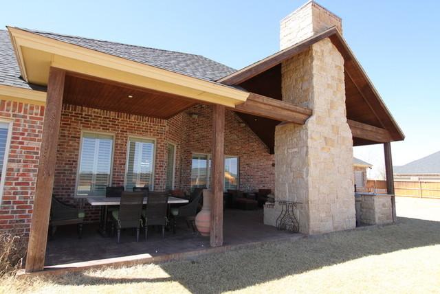 Custom Residence Highland Oaks traditional-porch