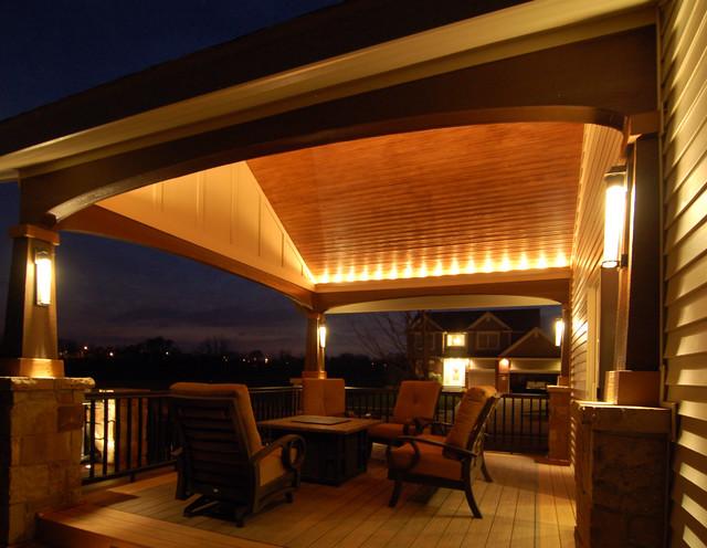 verandah lighting. deck and covered porch modernverandah verandah lighting d