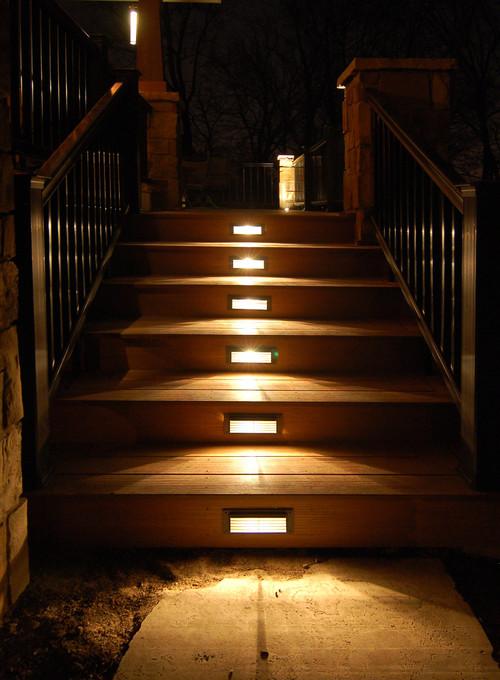 Stair lights aloadofball Choice Image