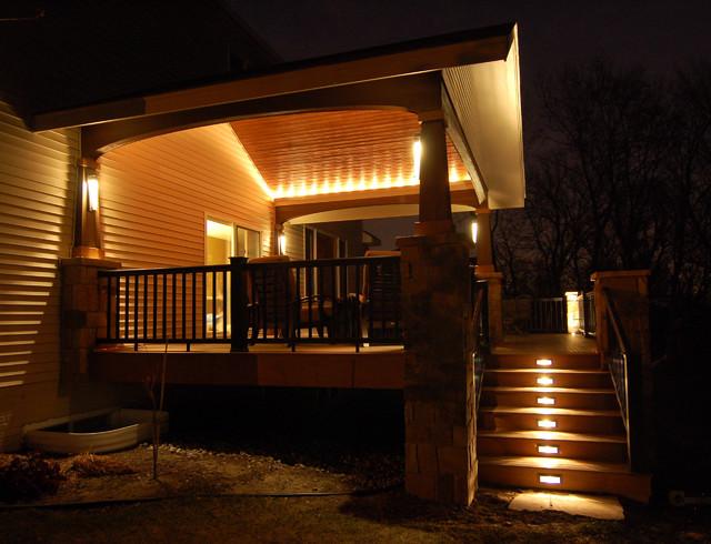 verandah lighting. Deck And Covered Porch Modern-verandah Verandah Lighting