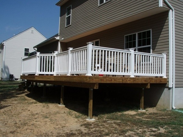 Deck Design and Build traditional-porch
