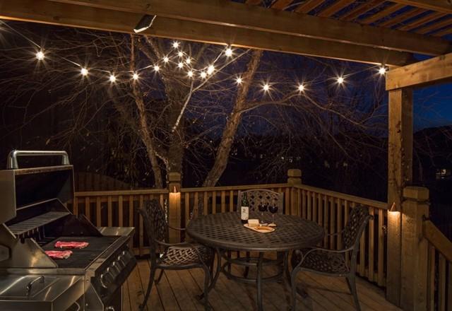 Deck Lighting Traditional Veranda Omaha By Mckay