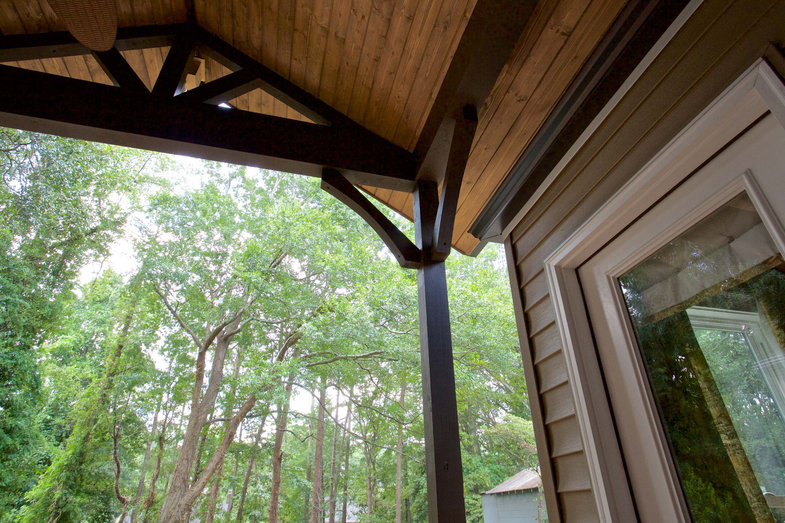 Deck Roof Addition