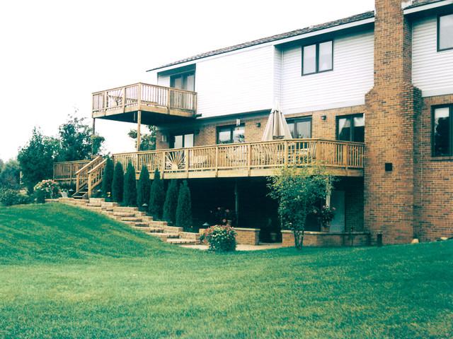 Decks and Porches traditional-porch