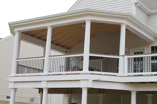 Decks by Blue Moon Construction traditional-porch