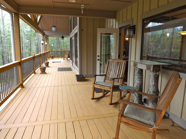 Decks traditional-porch