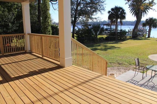 Decks traditional-porch