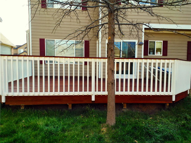 Decks Traditional Porch Denver By The Superior Finish
