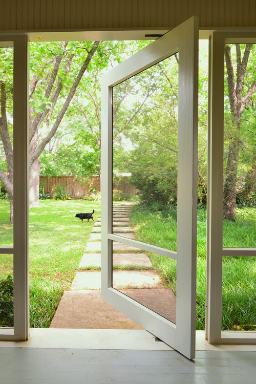 Love The Pivot Screen Door! What Hardware Did You Use For The Pivot?