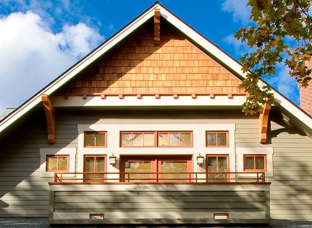 attic room decorating ideas - Detailed Craftsman Home Craftsman Porch wilmington