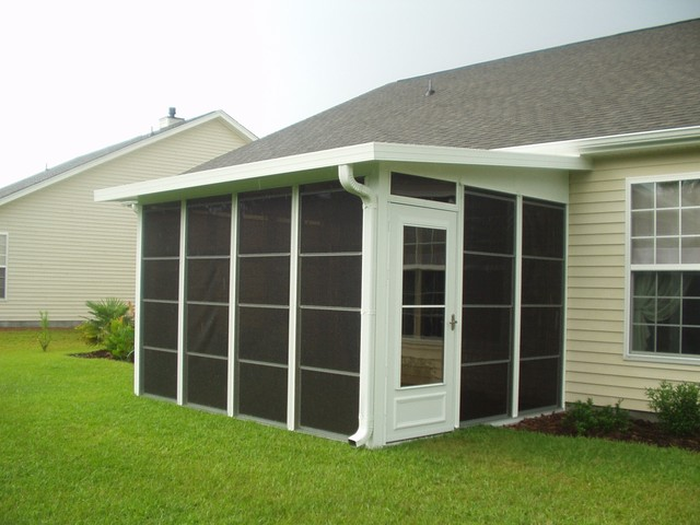 DIY EzeBreeze Windows And Doors   The Best Of A Screened In Porch And A  Sunroom